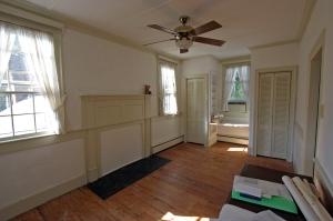 west bedroom closets