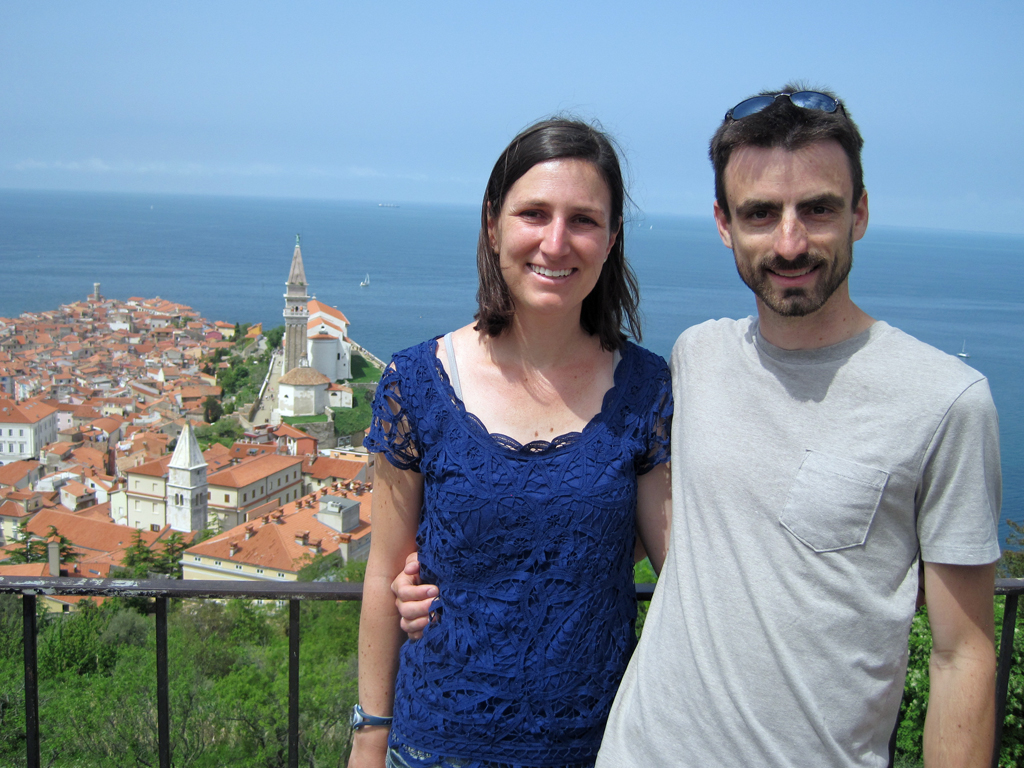 couple in piran