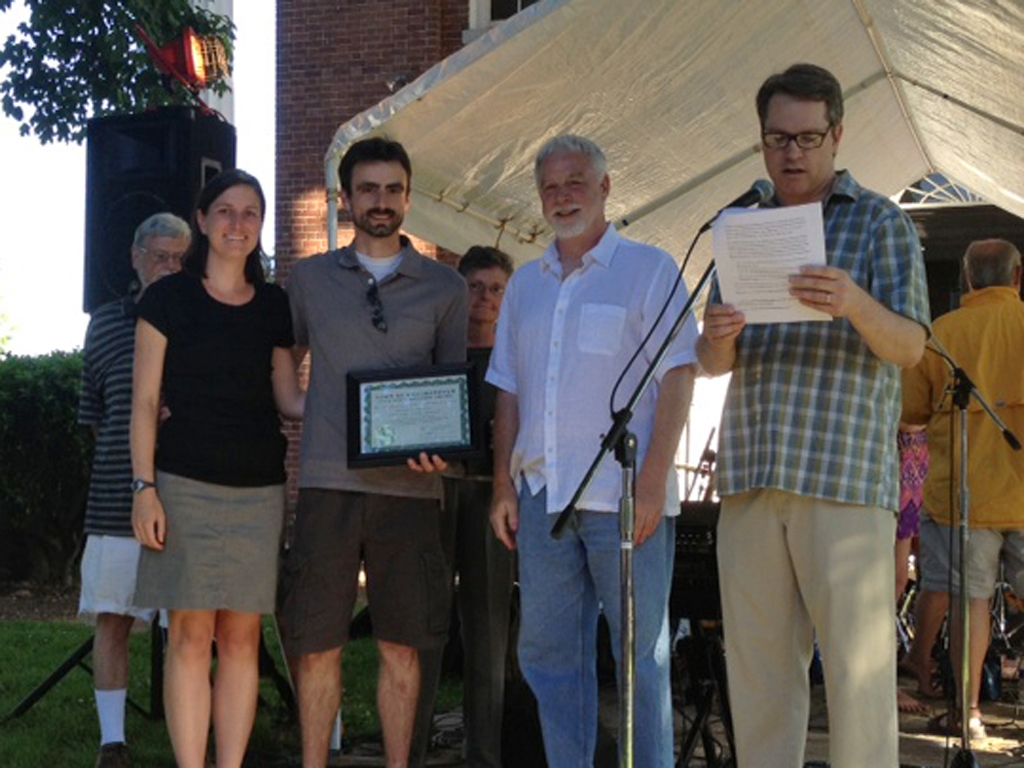 preservation award ceremony