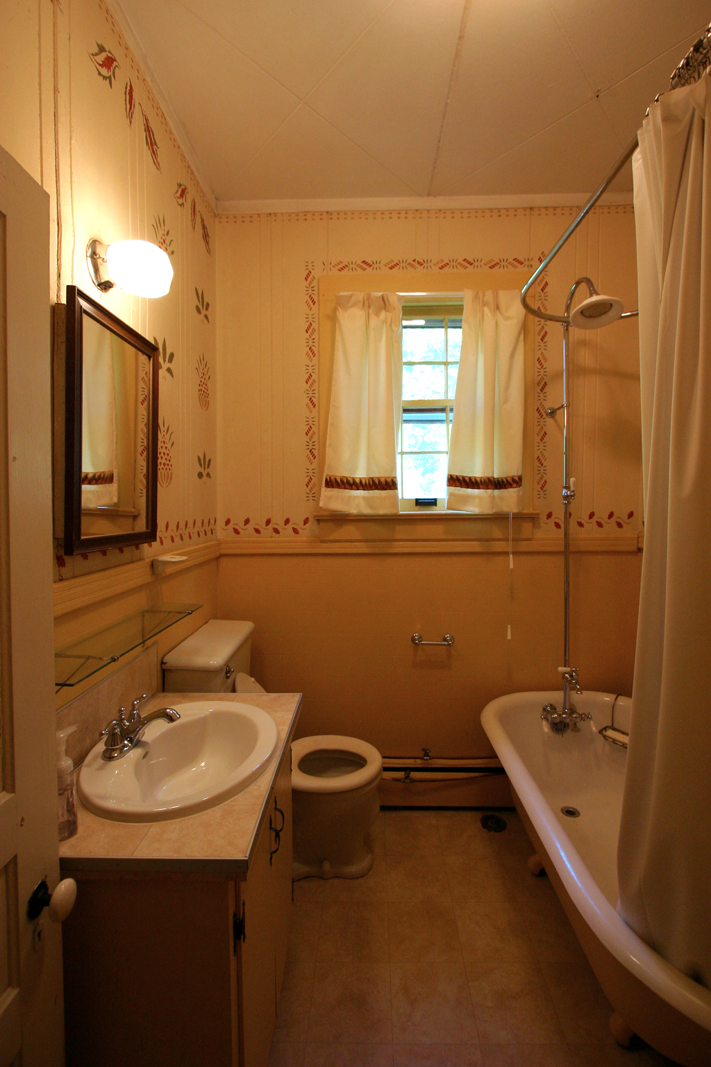 Before tour: the hall bath | The Ordinary House