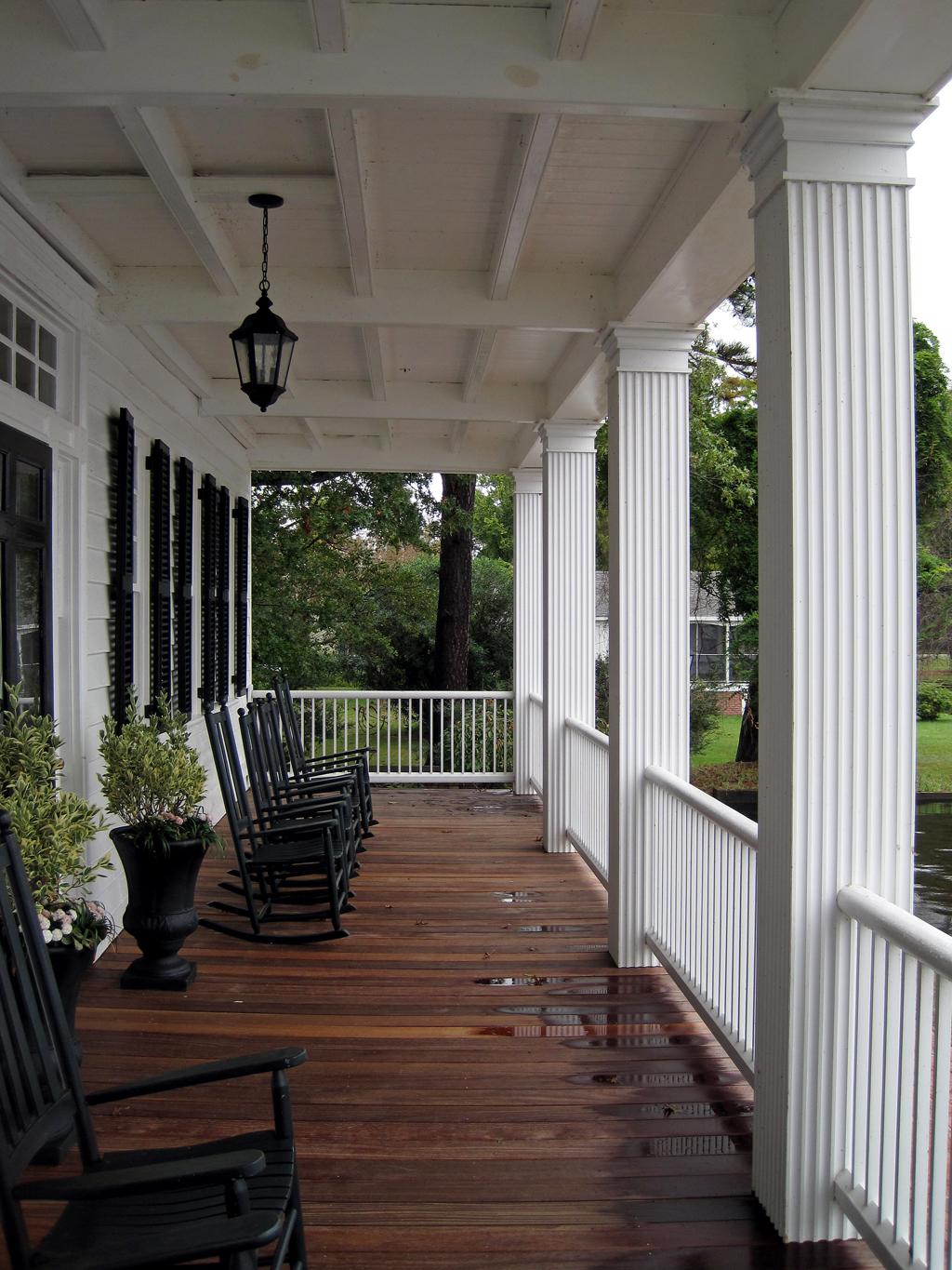 barker house porch