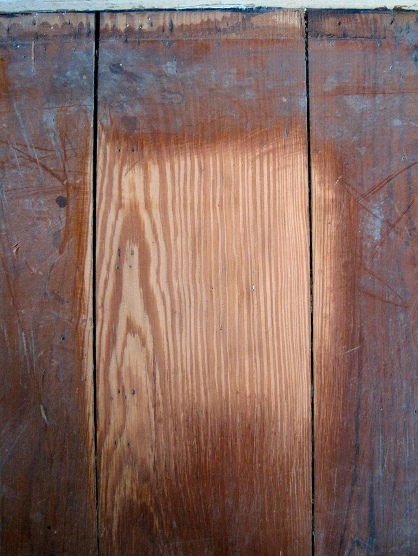 sanded heart pine