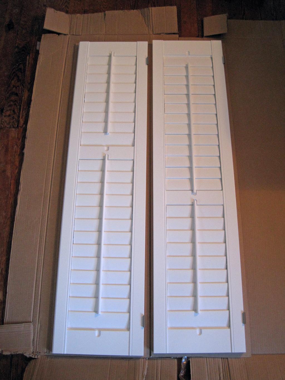 shutters unhung