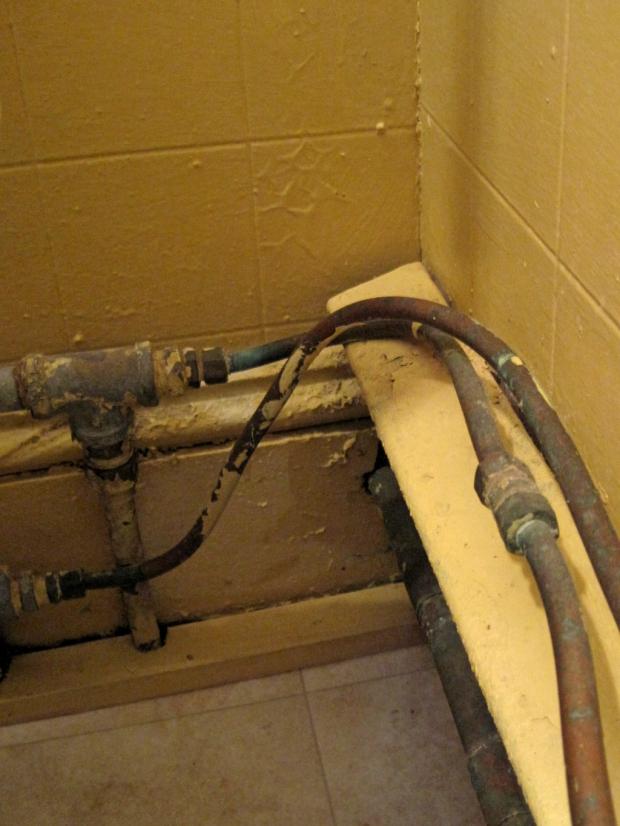 busted plumbing