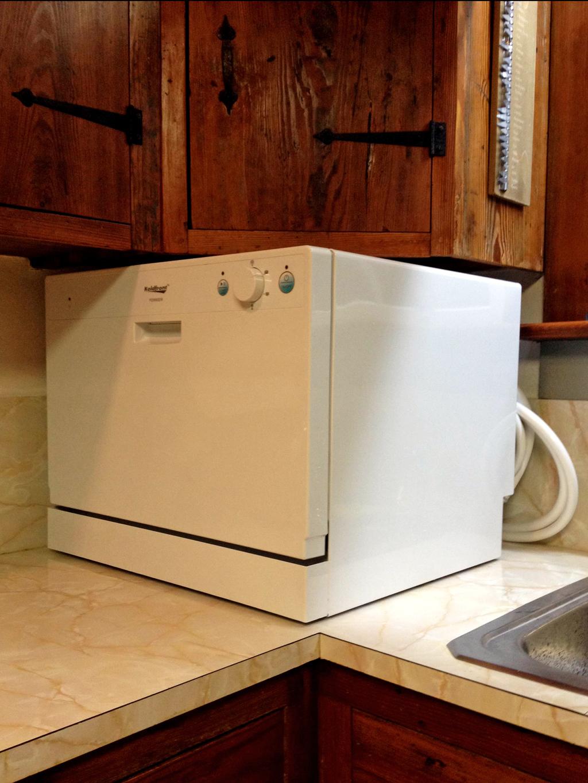 Large Countertop Dishwasher : countertop dishwasher