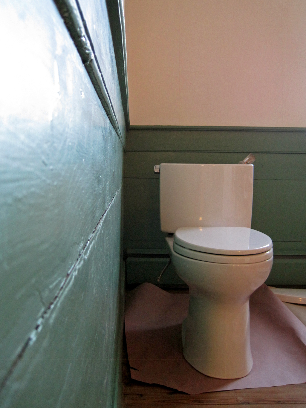 toilet in hall
