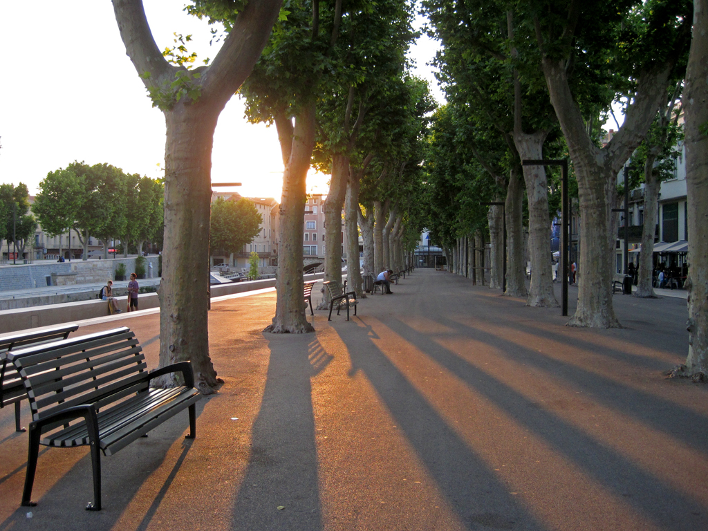 narbonne sunset